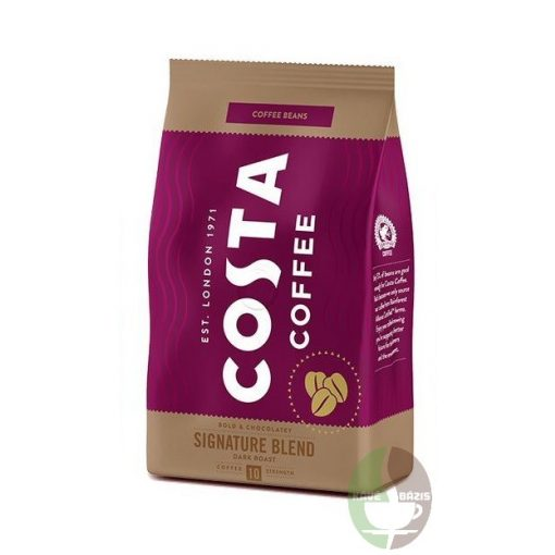 Costa Coffee Signature Blend Dark Roast 500g Szemes Kávé
