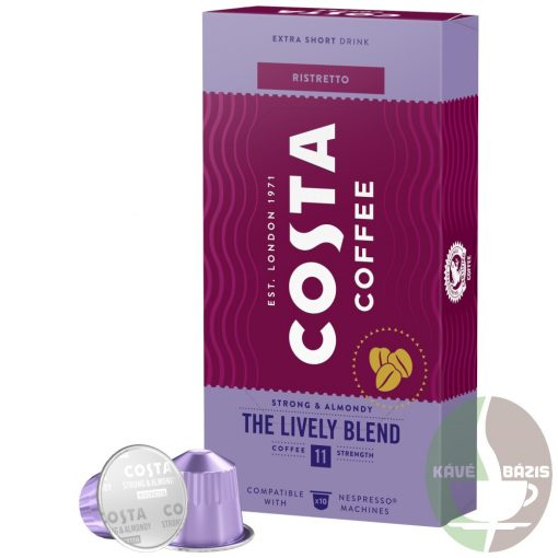 Costa Coffee Lively Blend Ristretto Nespresso Kapszula 10db